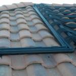 All Black Solar Heating Return