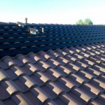 All Black Solar heating system