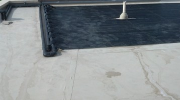 Las Vegas solar pool heater installation