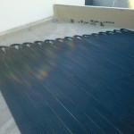 black solar heater elements