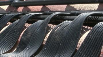 Las Vegas Black Solar Heater Installation